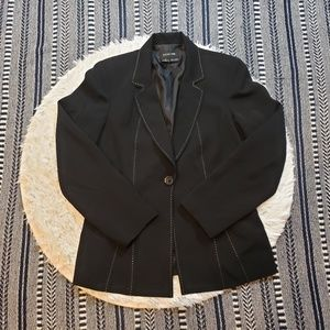 Focus 2000 Women's Black Blazer Jacket